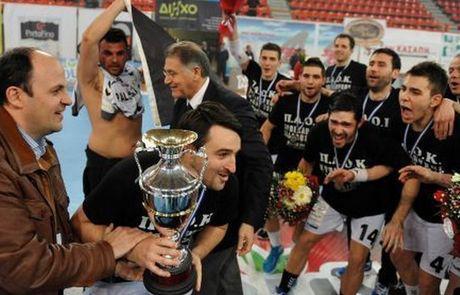 Κατάκτηση κυπέλλου Ελλάδος 2012